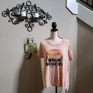 Lucky Brand Los Angeles High Desert Tee